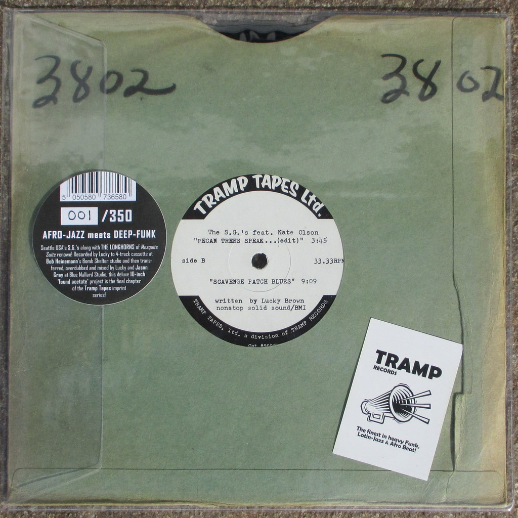Lucky Brown & The S.G.'S, Pecan Trees Speak To Each Other