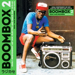 [SJRLP370 LP] Boombox 2 , Early Independent Hip Hop,Electro & Disco Rap 79-83