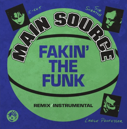 [MRB7190NG] Main Source, Fakin' The Funk (Remix) / Fakin' The Funk (Instrumental) (COLOR)