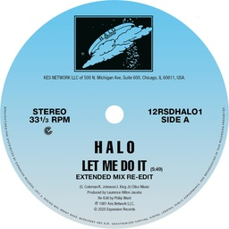[12RSDHALO1] Halo, Let Me Do It (Extended Version Re-Edit)/ Let Me Do It/ Life (Re-Edit)