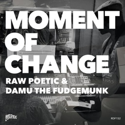 [RDF152-LP] Raw Poetic & Damu the Fudgemunk, Moment Of Change