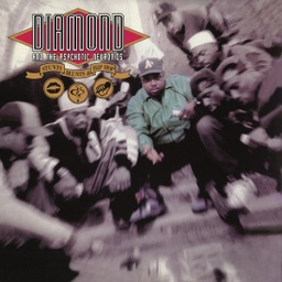 [GET54065-LP] Diamond D & The Psychotic Neurotics, Stunts, Blunts & Hip Hop