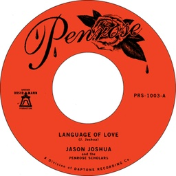 [PRS1003] Jason Joshua, Language Of Love / La Vida Es Fria