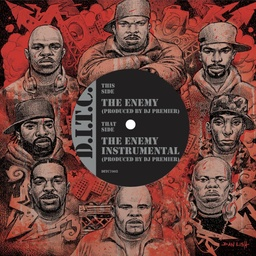 [DITC7002] DITC, The Enemy produced by DJ Premier b/w Instrumental